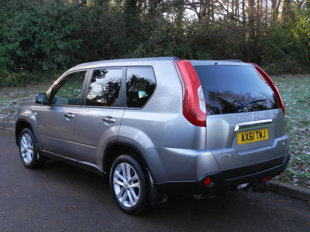 2012 NISSAN X-TRAIL 2.0 DCi ACENTA.. 6 SPEED MANUAL.. 4WD For Sale (picture 5 of 6)