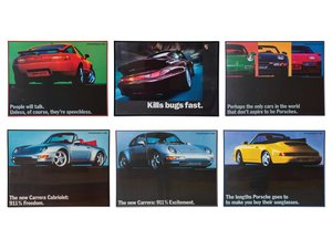 Porsche Promotional Framed Posters For Sale by Auction