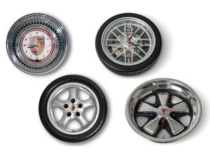 Porsche Wheel Clocks For Sale by Auction