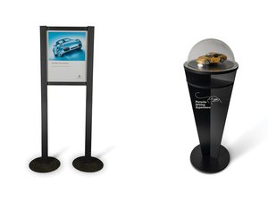 Porsche Dealership Display Stands For Sale by Auction