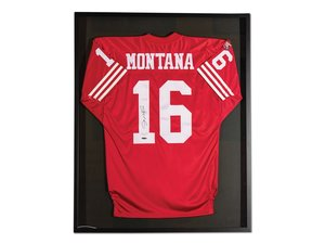 Joe Montana San Francisco 49ers Autographed Jersey For Sale by Auction