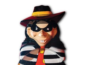 Hamburglar Bust For Sale by Auction