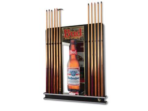 Budweiser Pool Cue Rack with Cues For Sale by Auction