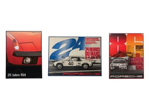 Porsche 9146 Framed Posters For Sale by Auction