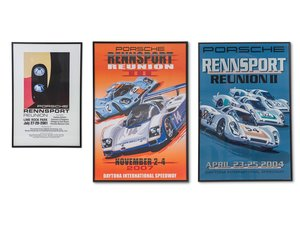 Porsche Rennsport Reunion Framed Posters For Sale by Auction