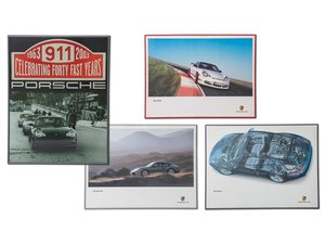 Porsche 996 Framed Posters For Sale by Auction
