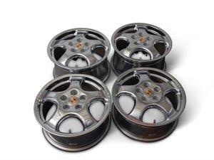 Set of Four Porsche Cup 1 Chrome Wheels For Sale by Auction