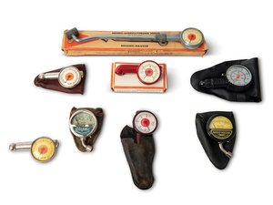 Collection of Tire Pressure Gauges For Sale by Auction