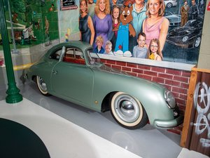 Porsche 356 Passenger Side Display For Sale by Auction