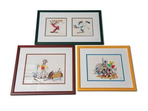 Disney Framed Sericels For Sale by Auction