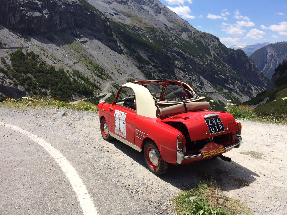 1958 Autobianchi Bianchina Transformabile S version  For Sale (picture 1 of 6)