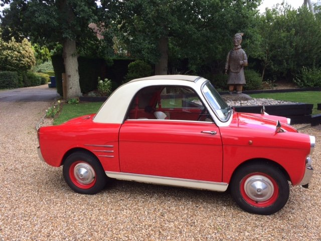 1958 Autobianchi Bianchina Transformabile S version  For Sale (picture 2 of 6)
