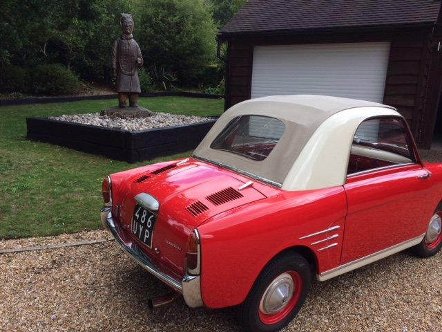 1958 Autobianchi Bianchina Transformabile S version  For Sale (picture 4 of 6)