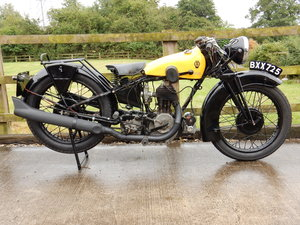 Chater-Lea AA Model 1935  545cc  Original Registration For Sale
