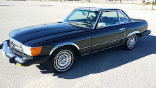 1976 Mercedes Benz 450 SL Roadster 2 Tops New Paint $10.5k For Sale