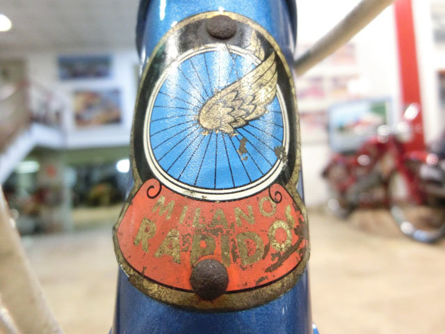 1960 BICYCLE MILANO RAPIDO - 60s For Sale (picture 6 of 6)