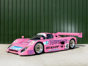1990 SPICE SE90C GROUP C SPORTS-RACING PROTOTYPE For Sale by Auction