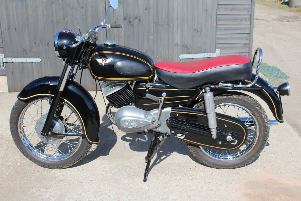 1956 Zundapp 200S Classic German motorcycle For Sale (picture 1 of 6)