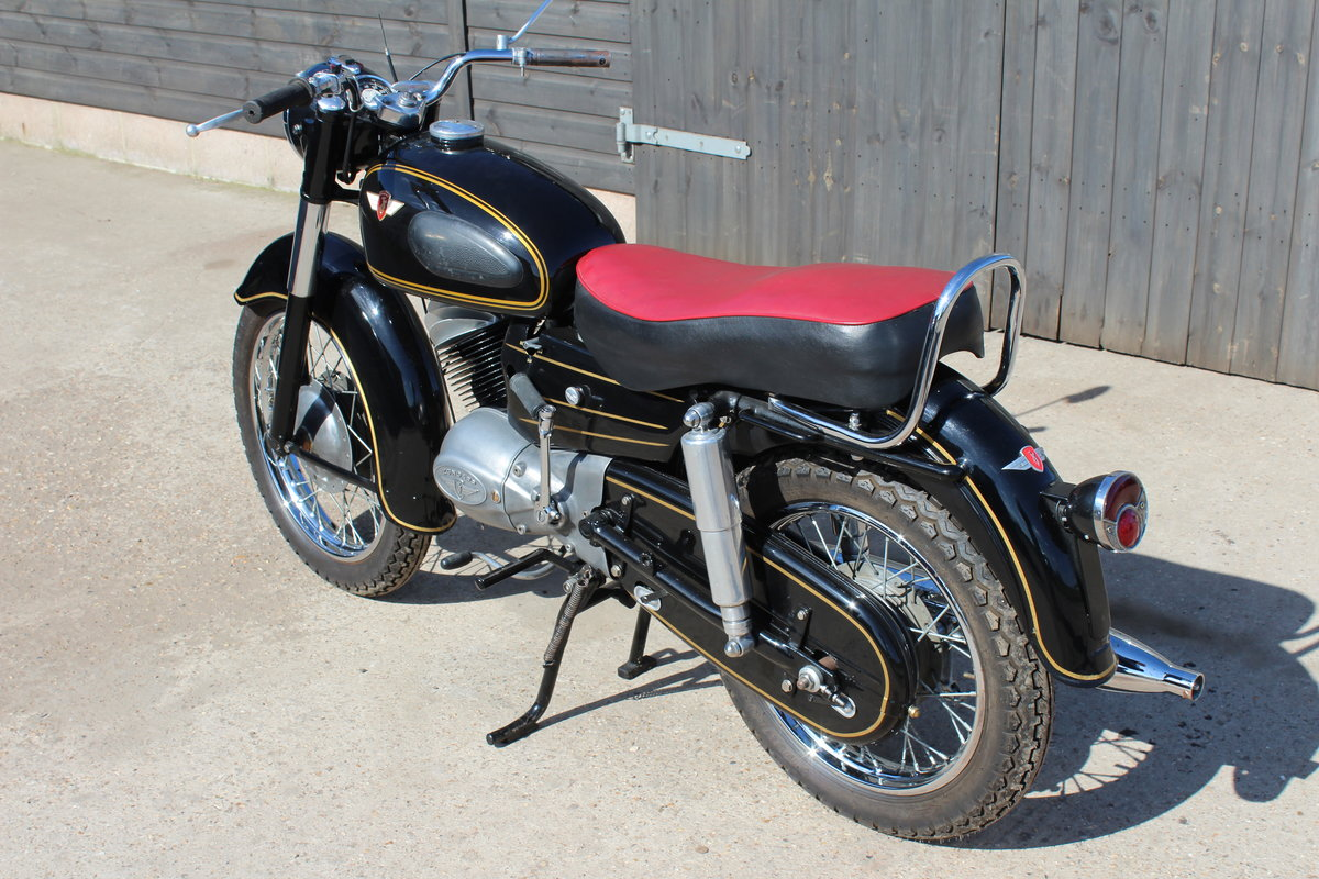 1956 Zundapp 200S Classic German motorcycle For Sale (picture 5 of 6)