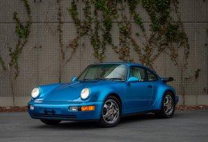 1992 Porsche 964 Turbo Coupe Rare 1 off Colors low miles  For Sale