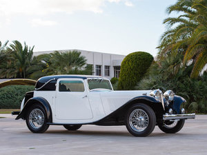 C.1936 SS1 FIXED-HEAD COUPÉ For Sale by Auction