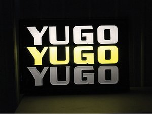 Yugo Dealership Sign For Sale by Auction
