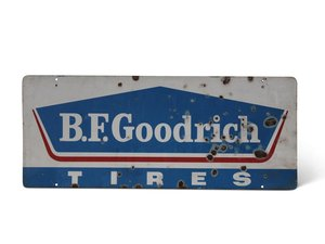 B.F. Goodrich Tires Sign For Sale by Auction