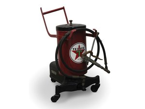 Refinished Texaco Branded Lubster For Sale by Auction