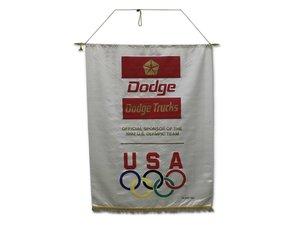 Dodge Trucks Silk Dealership Banner For Sale by Auction