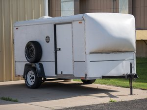 1987 Wells Cargo Enclosed Trailer  For Sale by Auction