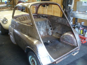 1959 isetta 300 project can deliver SOLD