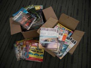 Automotive Magazines For Sale by Auction