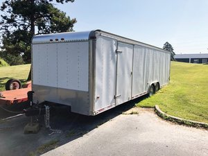 1998 Classic MFG Dual-Axle Enclosed Trailer  For Sale by Auction
