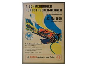 1955 Schwenninger Race Poster For Sale by Auction