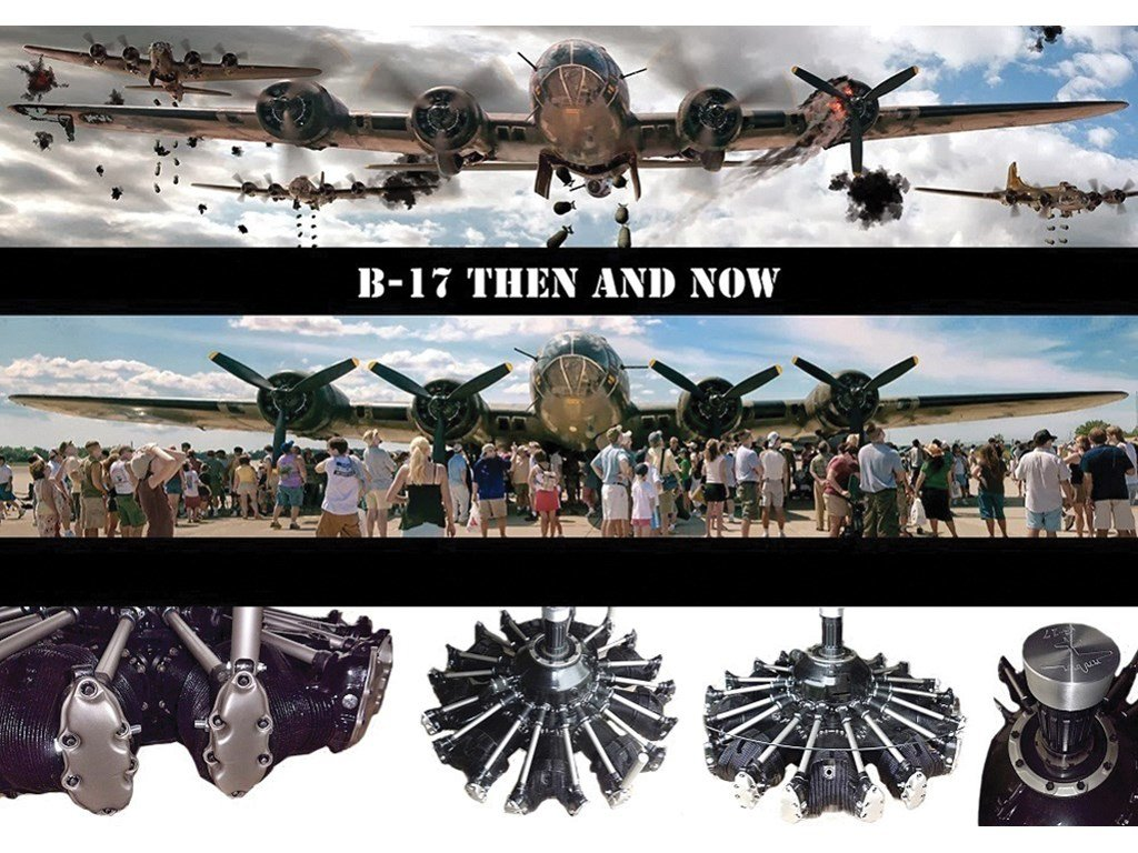 B-17 Bomber Engine Table For Sale by Auction (picture 3 of 3)