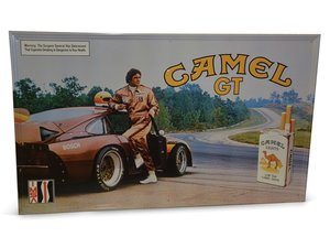 Camel GT Cigarettes Sign with IMSA Race Car For Sale by Auction