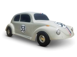 Coin-Operated Herbie The Love Bug Kiddie Ride For Sale by Auction