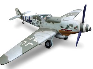 14 Scale WWII German Me 109 Airplane Model For Sale by Auction