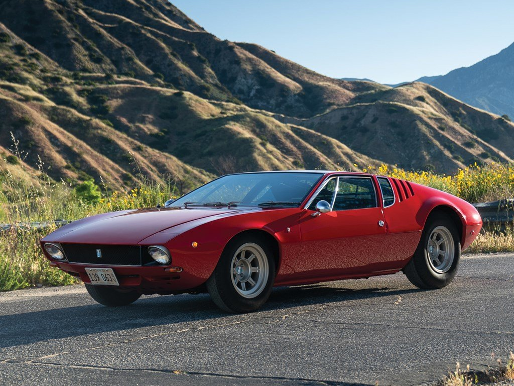 1970 De Tomaso Mangusta by Ghia For Sale by Auction (picture 1 of 6)