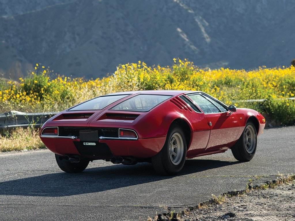 1970 De Tomaso Mangusta by Ghia For Sale by Auction (picture 2 of 6)