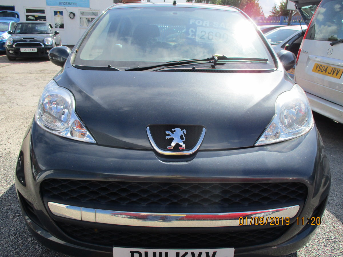 2011 47,000 MILES ON THIS LOVELY 107 PEUGEOT 5 DOOR NEW MOT  For Sale (picture 1 of 6)