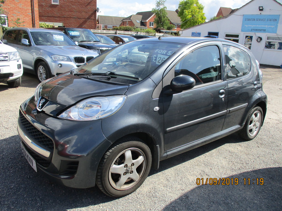 2011 47,000 MILES ON THIS LOVELY 107 PEUGEOT 5 DOOR NEW MOT  For Sale (picture 4 of 6)