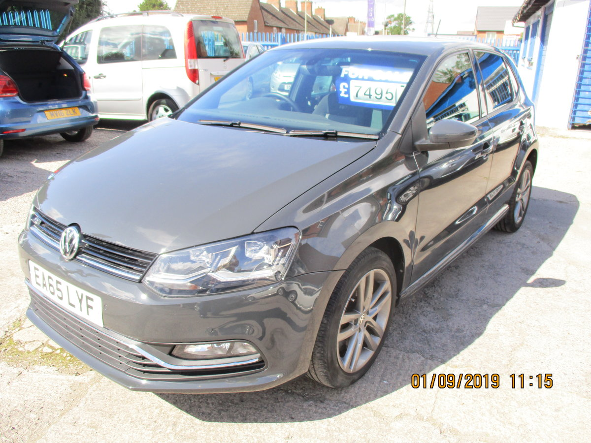 2015 POLO 1LTR R-LINE 5 DOOR SPORTY CAR JUST 47,000K READ LISTING For Sale (picture 2 of 6)