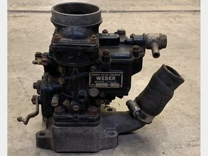 Weber Carburettor 40DCZ5 No.2827 For Sale by Auction