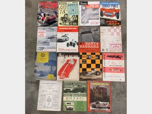 Selection of California Road Racing Brochures including Pomo For Sale by Auction