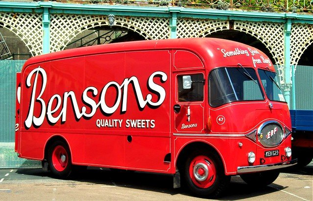 Erf bensons sweets 44g van For Sale (picture 1 of 5)