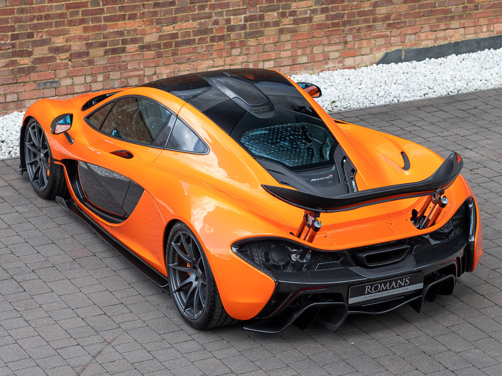 2015 McLaren P1 - Delivery Mileage For Sale (picture 19 of 24)