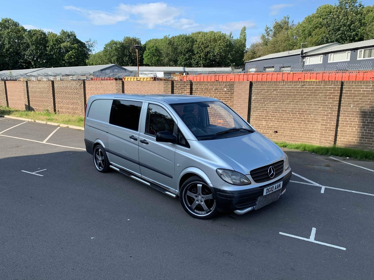 2010 Mercedes Vito dualiner fitted with om605 turbo diesel engine For Sale (picture 1 of 6)