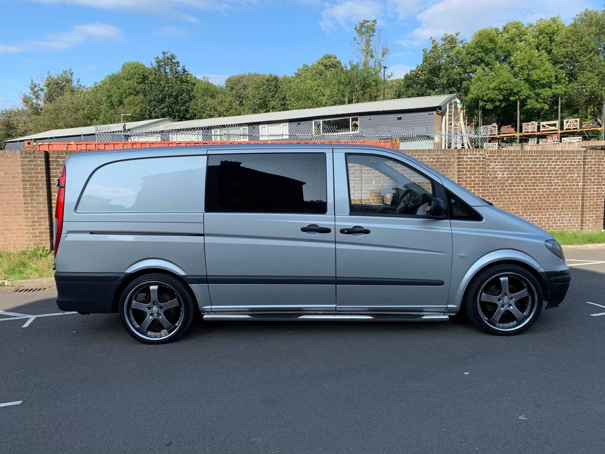 2010 Mercedes Vito dualiner fitted with om605 turbo diesel engine For Sale (picture 4 of 6)