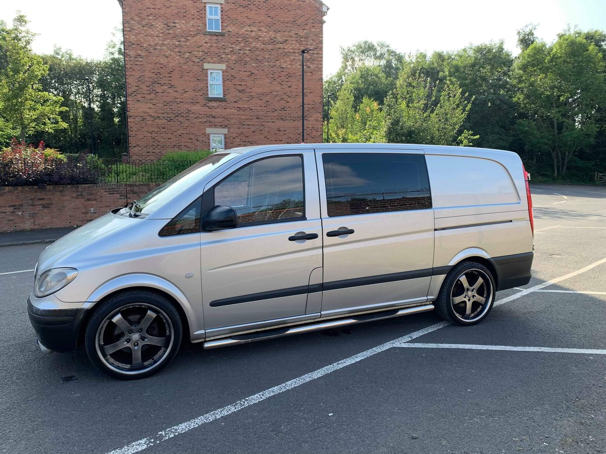 2010 Mercedes Vito dualiner fitted with om605 turbo diesel engine For Sale (picture 5 of 6)